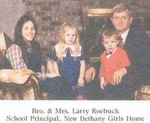 Larry Roebuck and family