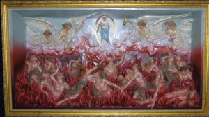 Suffering Souls in Purgatory